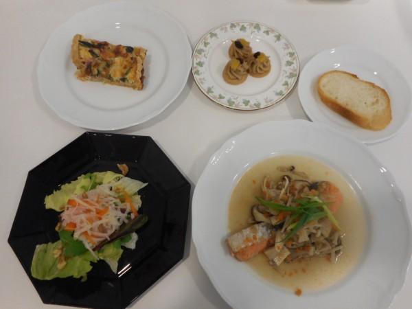 冬の料理講座「寒い夜のおもてなし料理」 in ヨンデンプラザ松山