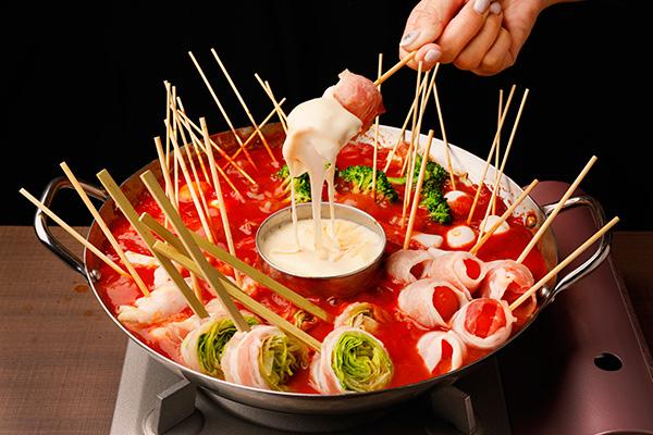 串鍋コースを楽しもう