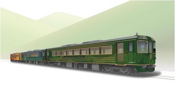 観光列車「四国まんなか千年ものがたり」特別公開!