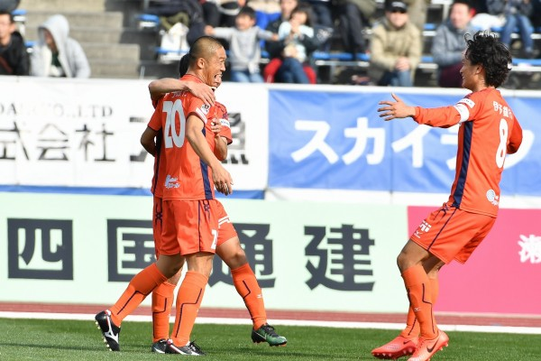 明治安田生命J2リーグ第9節 愛媛FC vs モンテディオ山形