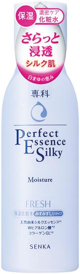 絹のようなさわり心地の シルク肌に導く保湿化粧水