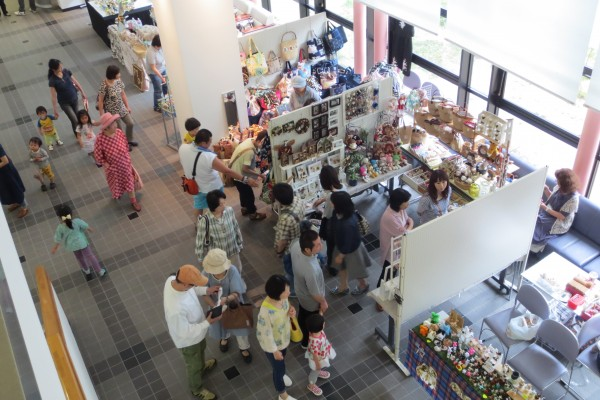 砥部町文化会館 第19回 ハンドクラフトマーケット