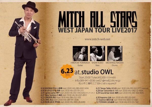 MITCH ALL STARS WEST JAPAN TOUR LIVE 2017