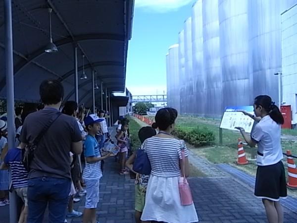アサヒビール四国工場 夏休み親子見学ツアー