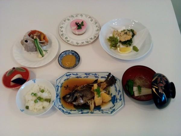 真夏~初秋の料理講座「家庭でできる本格和食」inヨンデンプラザ松山