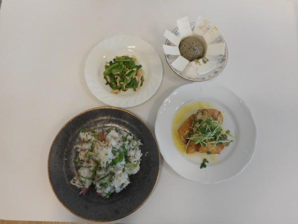 真夏~初秋の料理講座「秋の訪れを感じるうちごはん」inヨンデンプラザ松山