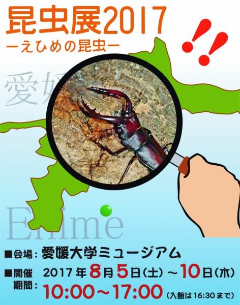 <特別展>昆虫展2017 – えひめの昆虫 -&水生生物展