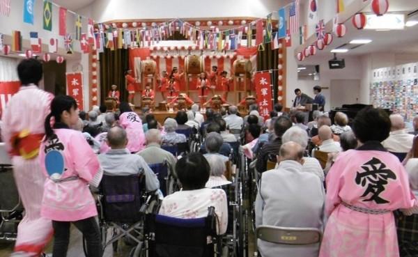 愛寿荘夏祭り