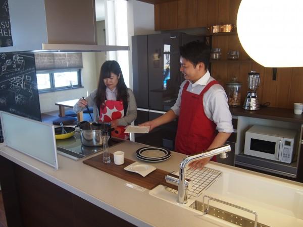 セキスイハイム×四国電力 デートdeランチ Cooking