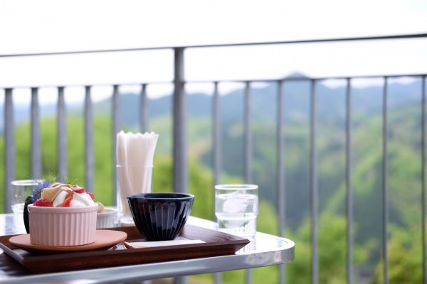 絶景の歌麿カフェ