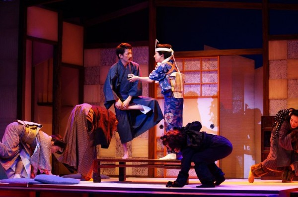 松山市民劇場第318回例会 劇団朋友「吾輩はウツである」