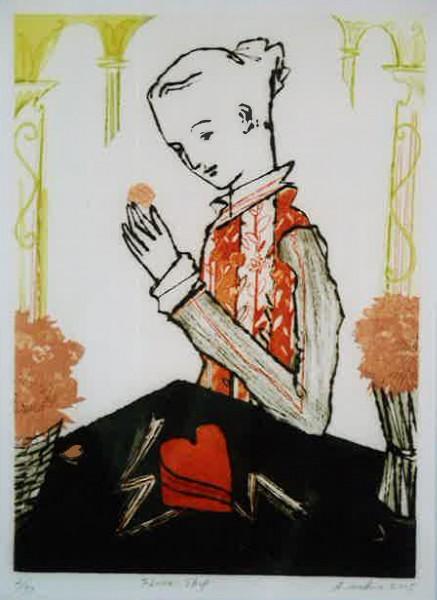 – 35人による – 「銅版画競艶展」