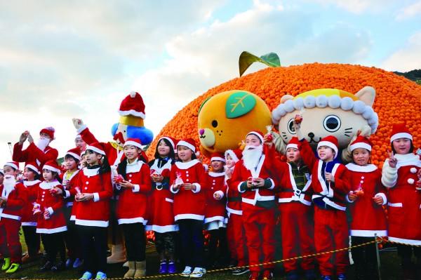 クリスマスオレンジフェスティバル2017 in八幡浜みなっと