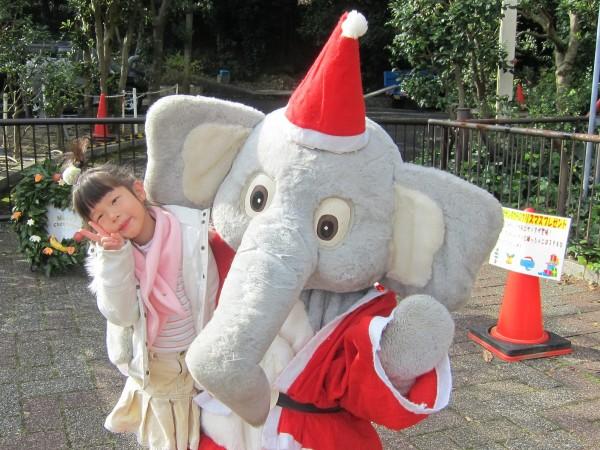 ゾウサンタからのクリスマスプレゼント