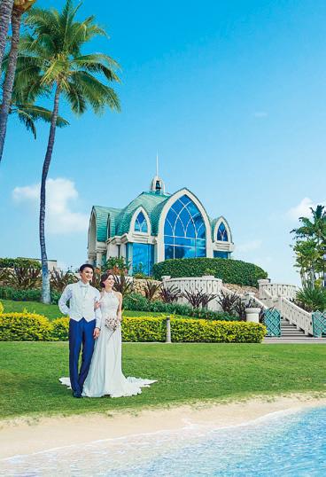"""ハワイで叶える夢の""""リゾ婚"""""""