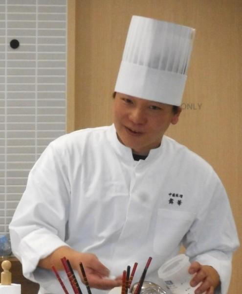 2月の料理講座「身近なお魚でおうち中華」inヨンデンプラザ松山