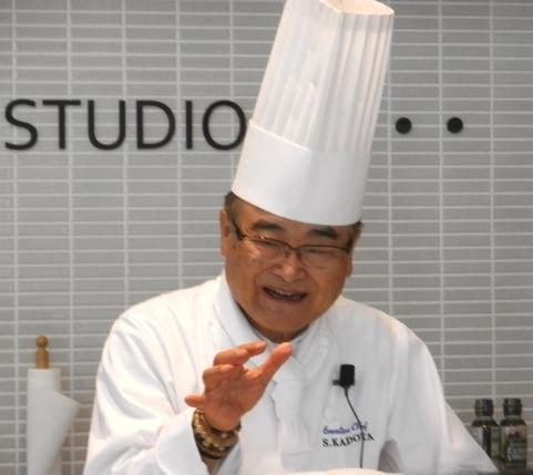 5月の料理講座「ムッシュ直伝!家庭で作れる本格フレンチ」inヨンデンプラザ松山