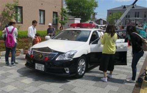 ミニSL乗車会・はたらく車大集合!