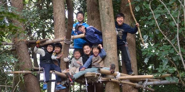松山総合公園プレーパーク