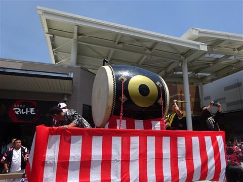 日高村社祭り
