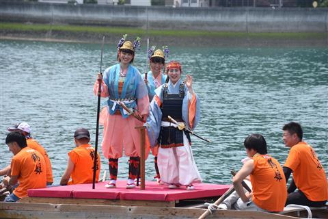 三島水軍鶴姫まつり