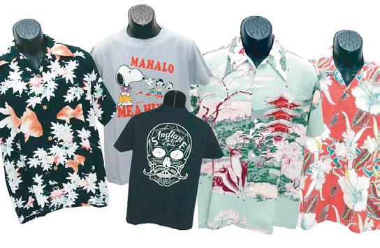アロハシャツやミリタリーTシャツなど人気ブランドの夏物が続々入荷中!