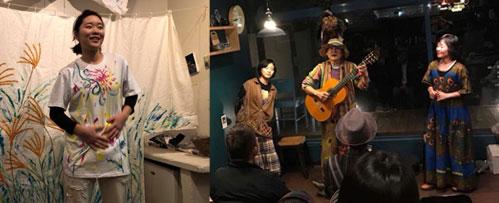 野外劇団楽市楽座プレイベント 萌一人芝居『黄色い自転車』&『楽市楽座トークショー』