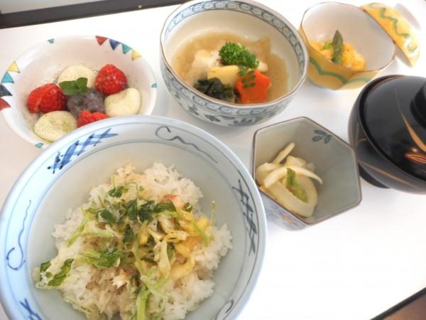 9月の講師料理講座「秋を感じる和食」inヨンデンプラザ松山