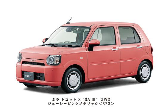 ダイハツから新型軽自動車「ミラトコット」登場!