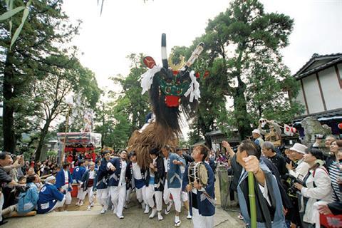 保内・三島神社「神幸祭」