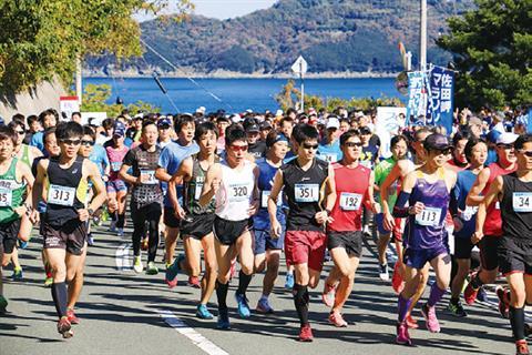 佐田岬マラソン2018
