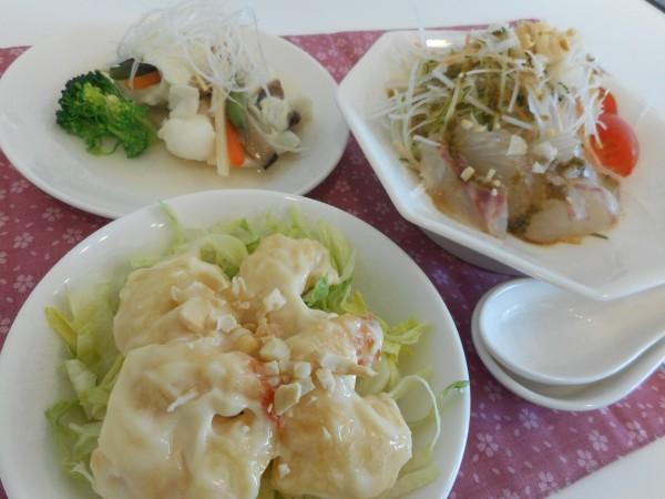 11月の講師料理講座「ワンプレートの中華ランチ」inヨンデンプラザ松山