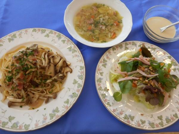 1月の講師料理講座「冬のおもてなし料理」inヨンデンプラザ松山