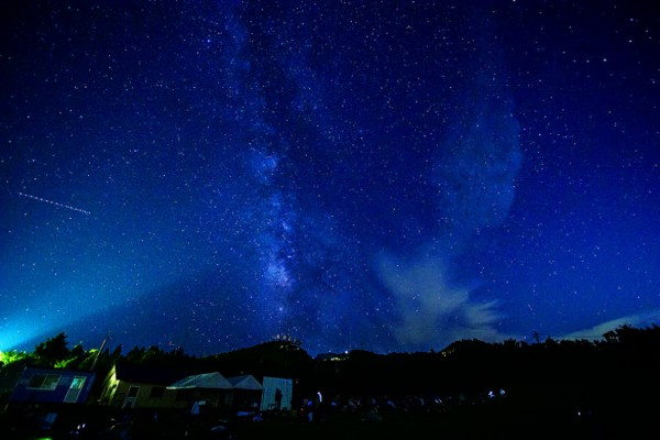 石鎚山スターナイトツアー 月の観測