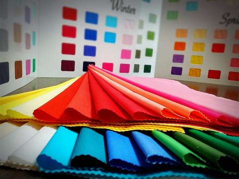 パーソナルカラー似合う色診断体験&心のもやもや解消カラーセラピー体験