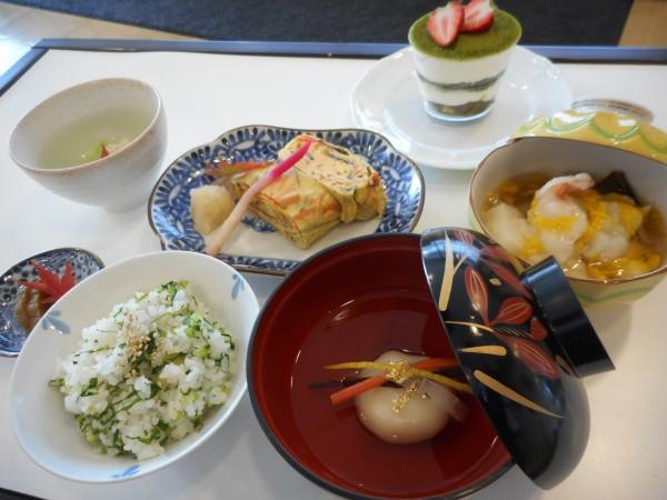 3月の講師料理講座「家庭で楽しむひな祭り」inヨンデンプラザ松山