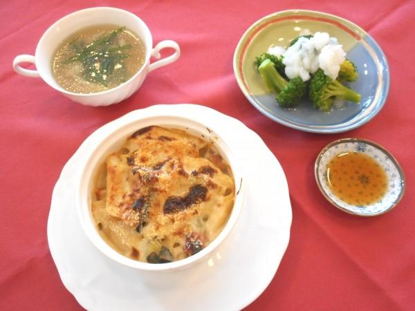 4月の講師料理講座「春の食材でおもてなしランチ」inヨンデンプラザ松山