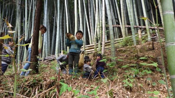 「山の畑」(今治市朝倉児童館)