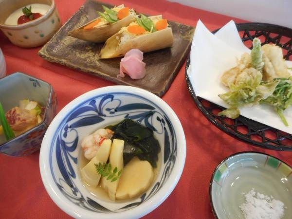 5月の講師料理講座「和食で感じる初夏の香」inヨンデンプラザ松山