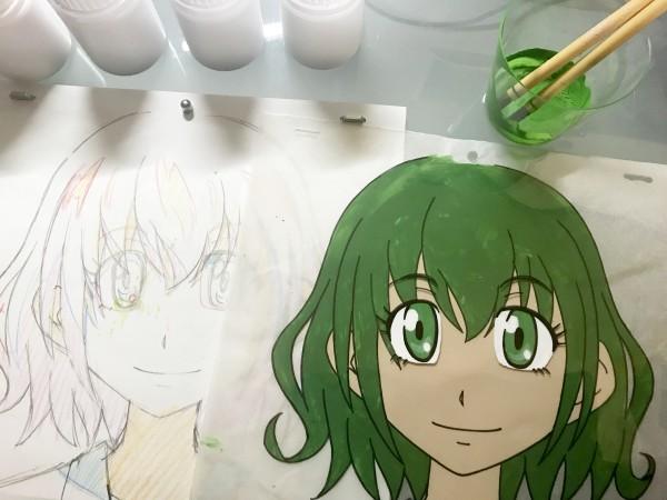 アニメ好き集まれ!自分だけのセル画を作ろう!!