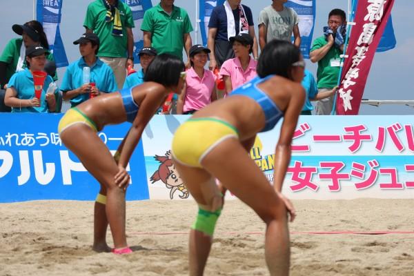 '19マドンナカップin伊予市 ビーチバレージャパン女子ジュニア選手権大会