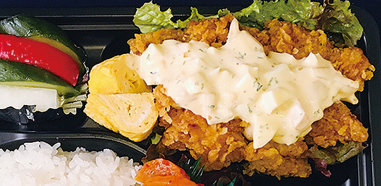 「チキン弁当」が新登場!