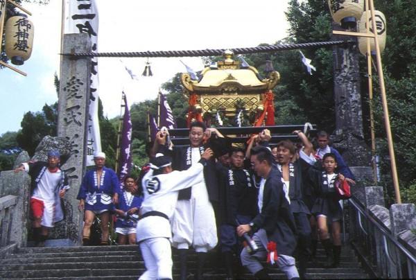 三島神社秋祭り