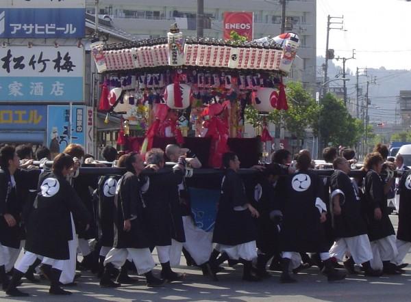 伊吹八幡神社秋祭り