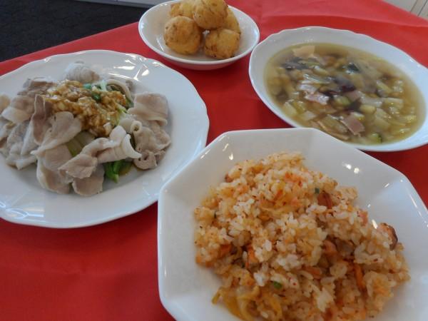 9月の講師料理講座「秋の味覚を囲む食卓」inヨンデンプラザ松山