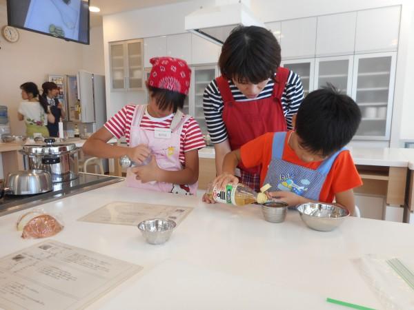 ファミリー★9月の講師料理講座「IHで安心!みんなが大好きな揚げ物おかずを作ろう」inヨンデンプラザ松山