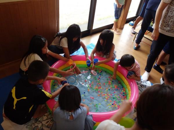 亀岡児童館夏祭り(今治市亀岡児童館)