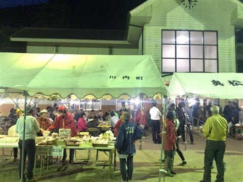 奥松瀬川収穫祭