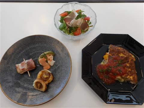 10月の講師料理講座「フランスの家庭料理にチャレンジ」inヨンデンプラザ松山