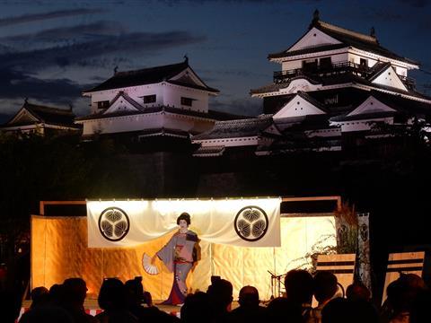 月のおもてなしin松山城